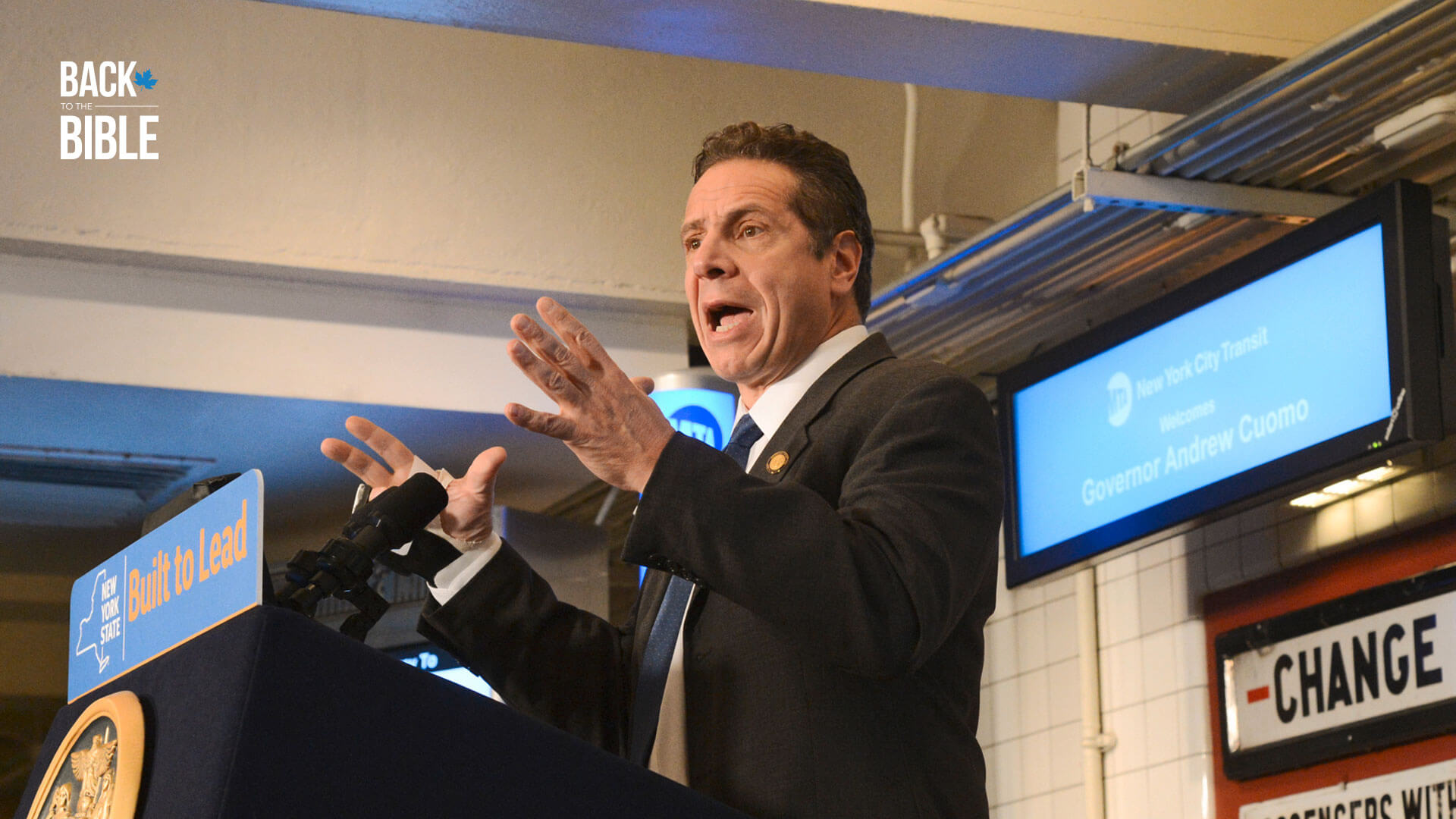 "Governor Cuomo and ""God Did Not Do That!"" by Dr. John Neufeld 