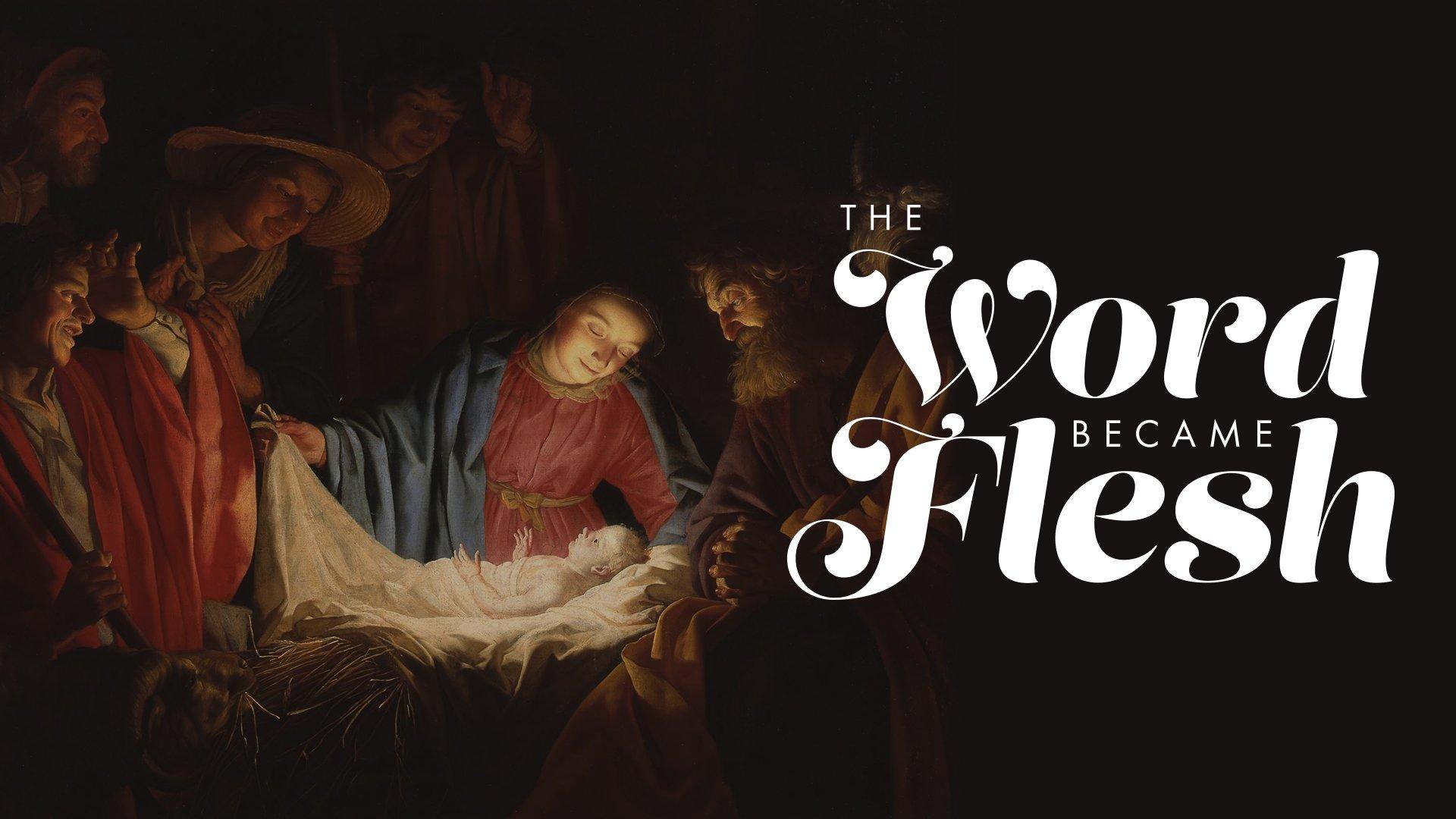 Image result for word became flesh