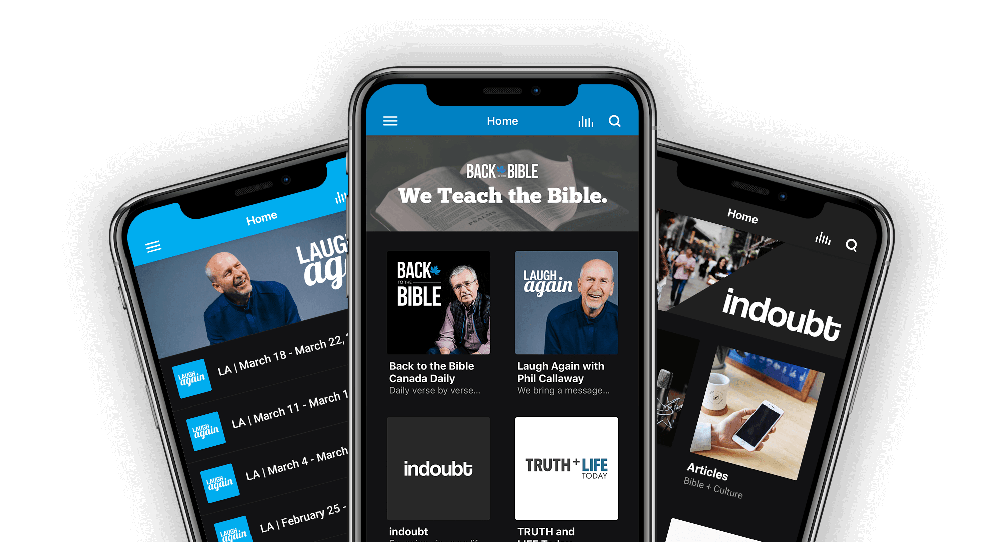 Back to the Bible Canada Apps